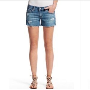 AG Adriano Goldschmied The Carrie Jean Short SZ 25